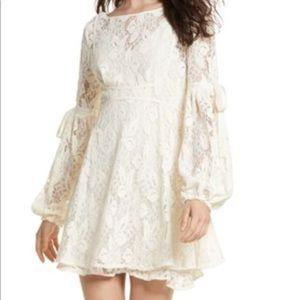 NWT Free People Lace Midi Dress Medium